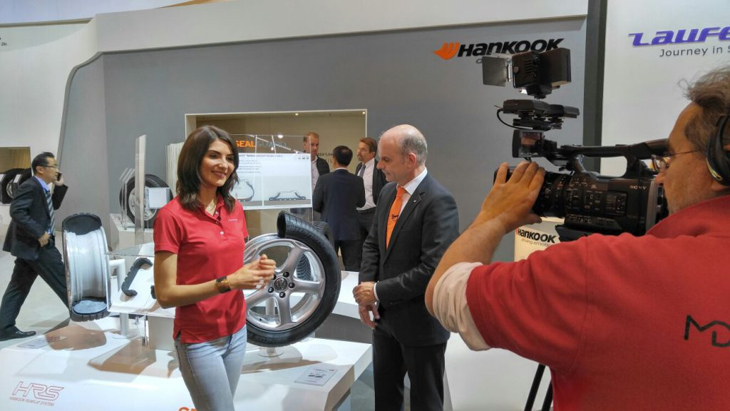 Making-of: Interview Felix Kinzer von Hankook